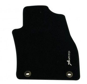 Carpet Foot Mat Black