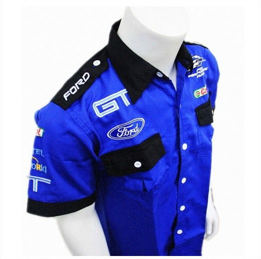 Full Sleeve Shirt Blue