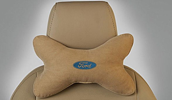 Ford Neck Rest Cushions - Camel Beige