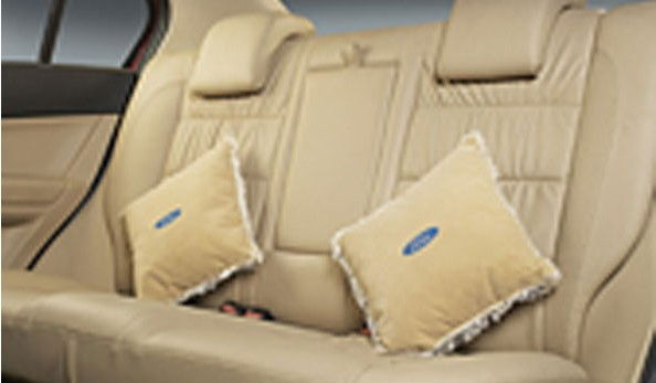 Ford Pillow Cushions - Camel Beige