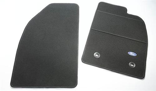 Carpet Floor Mats Black