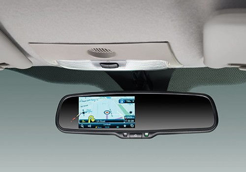 Rear View Camera with IRVM Display