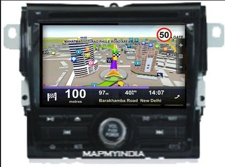 GPS Navigation System With Bluetooth