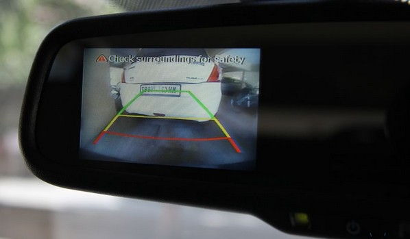 Reverse Parking Sensor With Camera 3-5 inch Screen
