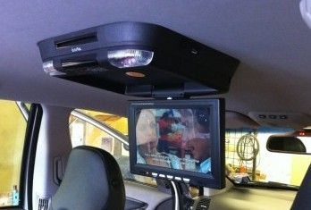 Roof Mounted DVD With Screen