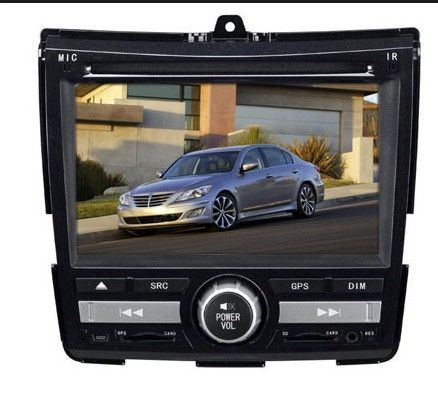 Touch Screen DVD Player With Bluetooth