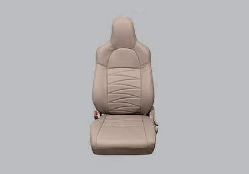 Seat Cover Arc Stitch Beige