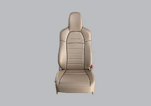 Seat Cover Horizontal Stitch with Black Piping