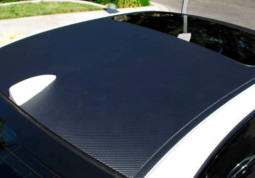 Contrast Black Roof Wrap