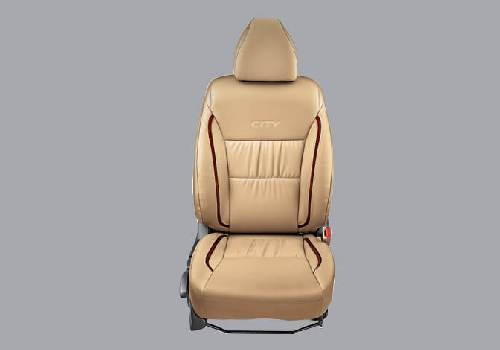 Seat Cover PVC Gathering with Woody Stripes