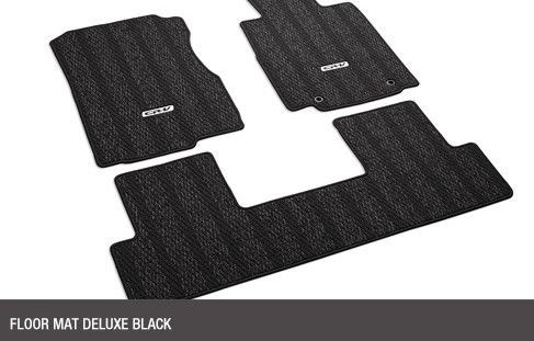 Floor Mat Deluxe Black