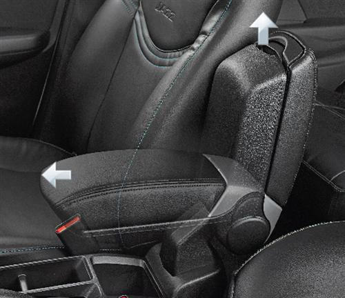 Armrest Console - Closed