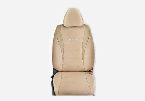 KIT Seat Cover Fabric : Beige with PVC inserts
