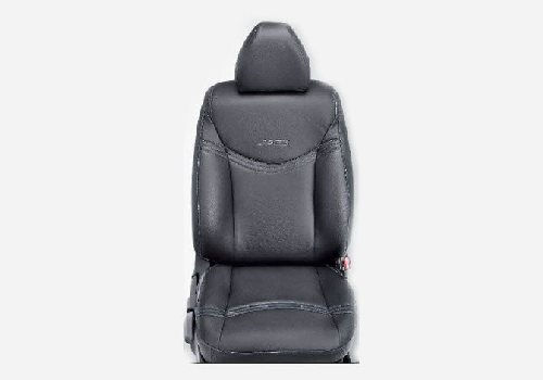 KIT Seat Cover PVC : Premium Black Blue Stitch