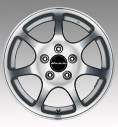 Alloy Wheels Each 7 Spokes