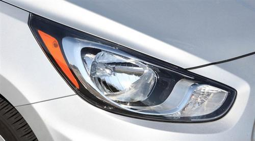 Integrated Wrap Around Headlights