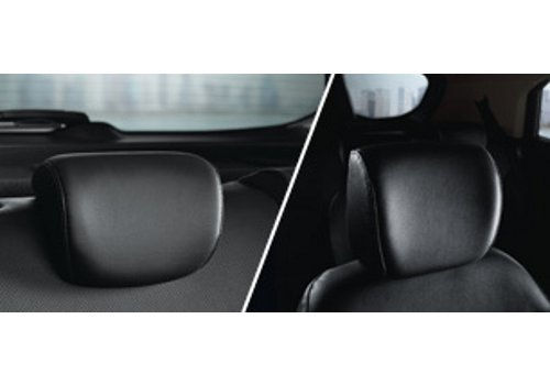 Adjustable front & Rear Headrest