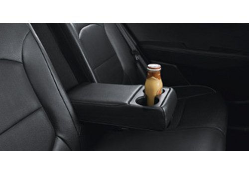 Cup Holder in rear Seat armrest