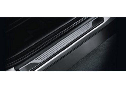 Door Scuff Plate - Silver Illuminated