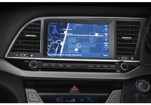8-in-AVN touch-screen