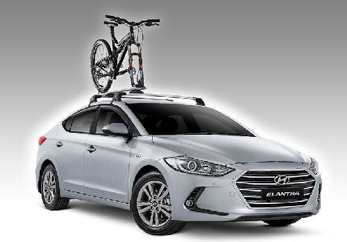 Roof-Mounted Bike Carrier