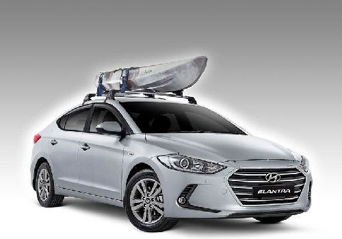 Roof-Mounted Kayak Holder