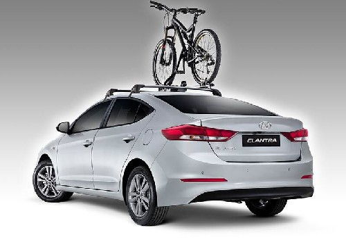 Thule Bike Rack - Wheel On