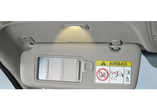 Sun visor with Illumination