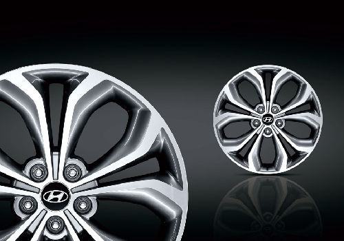 Alloy Wheel - 14 Inch - Diamond Cut Alloy Wheel Design