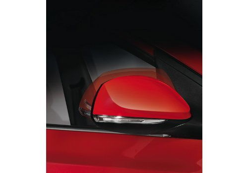 Door mirror LED turn signals