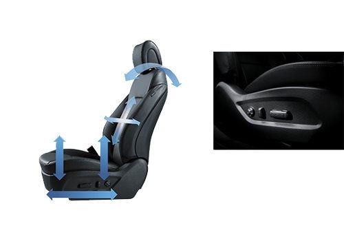 12 way power driver seat