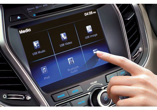 Touch screen infotainment system