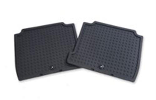 Rubber Floor Mats - Rear