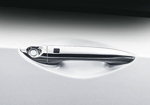 Chrome outside door handles