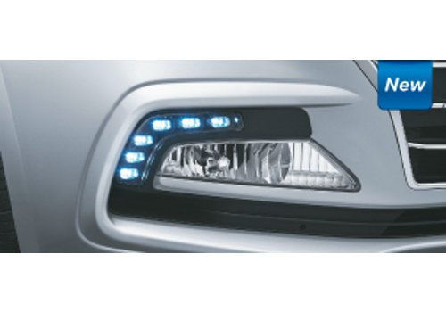 Fog Lamps with LED DRLs