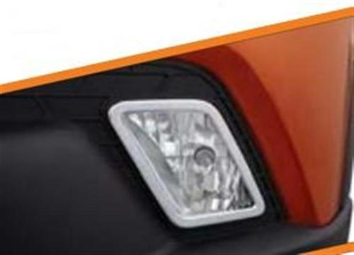 Elegant Chrome Bezel Fog Lamps