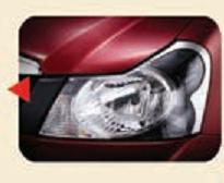 Chrome Bezel Headlights