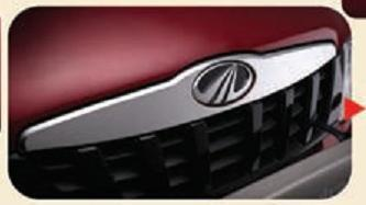Chrome Crested Front Grille