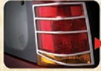 Chrome Lined Tail Lamps
