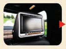 Entertainment Ready Headrest Monitors