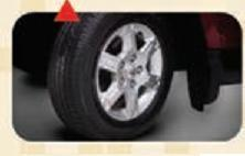 Wide Spoke Alloy Wheels