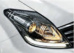 Rexton SUV Auto headlamps