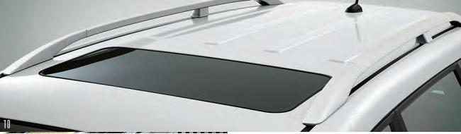 Electric sunroof with sunblind