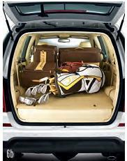 Rexton SUV Third row folding