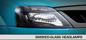 Smoked Glass Headlamps