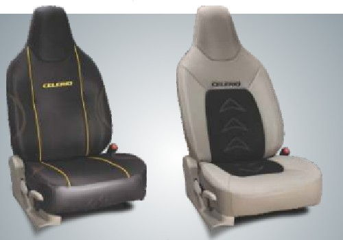 Fabric and Art Leather Seat Cover