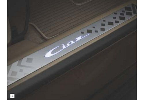Door Sill Guard with Illumination