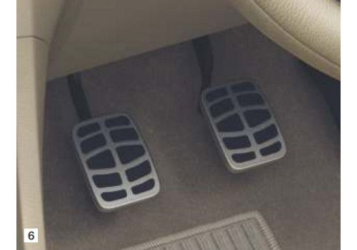 Sporty Pedal Pad
