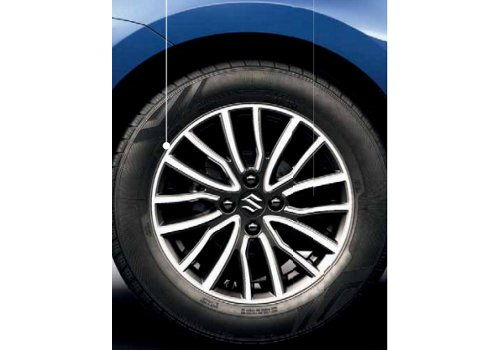 Dzire Vector Finish Alloy Wheel