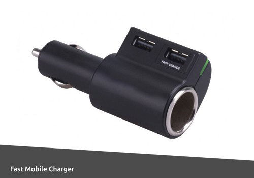 Accessory Socket Fast charger